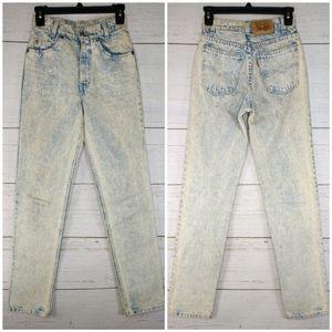 Vintage Levi's 705 Orange Tab Denim Jeans